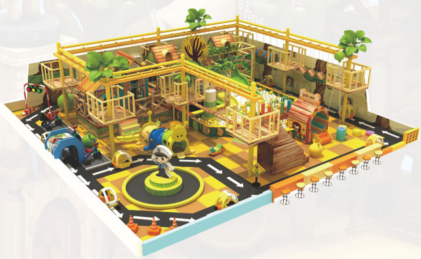 長沙兒童樂園設備